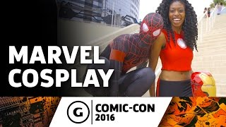 Marvel Cosplay at Comic-Con 2016
