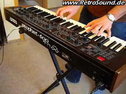 SCI Prophet-600 Analog Synthesizer