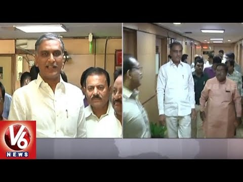 Minister Harish Rao Speech After Meeting With Union Minister Nitin Gadkari | Delhi | V6 News