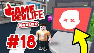 Game Dev Life #18 - CUSTOM OFFICE SIGNS (Roblox Game Dev Life)