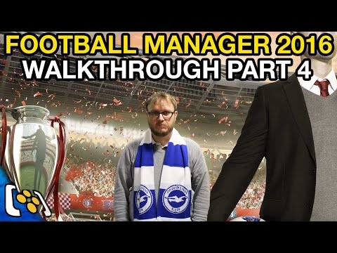 Let's Play Football Manager 2016: My Life as a Football Manager Episode 4