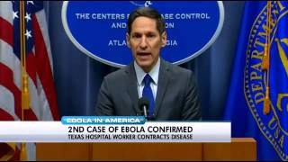 Ebola diagnosed in Texas health care worker