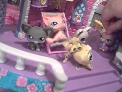 Littlest Pet Shop Castle Littlest Pet Shop Castle With