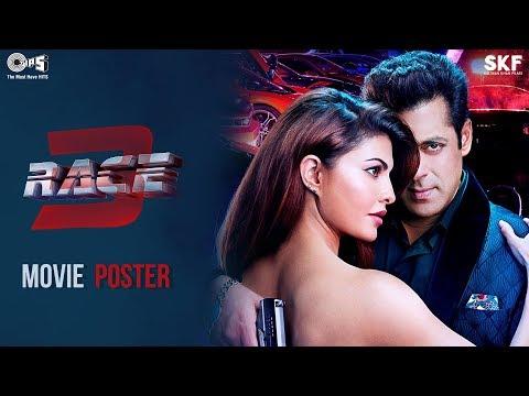 Race 3 Movie Poster - Salman Khan & Jacqueline Fernandez   Remo D