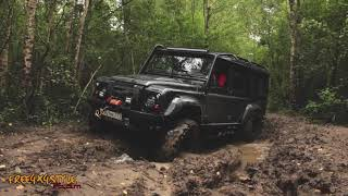 "The new Land Rover Defender Tactical Bi-turbo. - better than ever!"" Custom made by Free4x4Style Team"