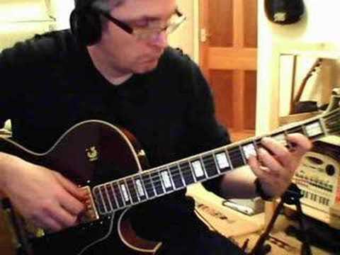 Georgia on my mind fingerstyle solo jazz guitar