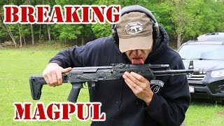 Breaking Magpul AK Furniture