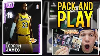 INSANE PULL! REAL LIFE PACK AND PLAY - NBA 2K19