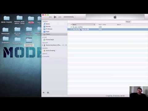 Como Instalar Ringtones Al Iphone -sin Jailbreak Ios 7 *2013* video