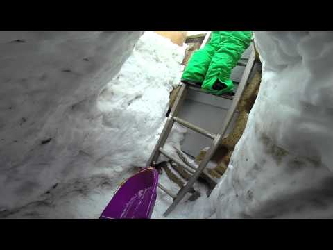The Biggest Backyard Luge 2014 Elk River, MN
