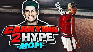 NBA 2K19 PARK FT. MOPI - CARRYING 2HYPE EP. 2