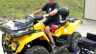 Wheelchair Transfer - Paraplegic Wheelchair To Atv Transfer