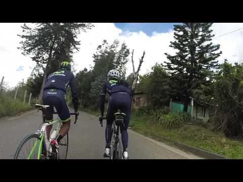Así se entrenó Nairo Quintana para Vuelta a España
