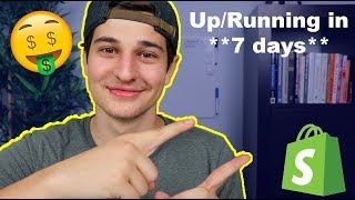 Starting A Drop-shipping Business In 1 Week... (What I Would Do) - Shopify Drop-shipping