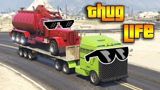 GTA 5 ONLINE : THUG LIFE AND FUNNY MOMENTS (WINS, STUNTS AND FAILS #64)