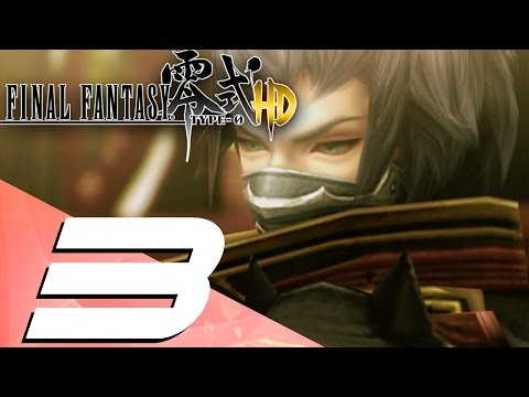 Final Fantasy Type-0 HD - English Walkthrough Part 3 - Akademeia & First Mission