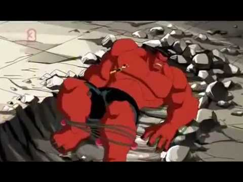 The Avengers - Earth's Mightiests Hulk Vs Red Hulk video