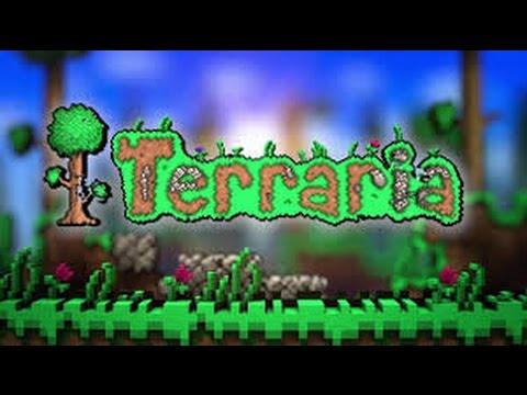 Terraria Lets Build: Episode 5-Building the green house