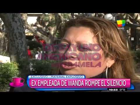 La ex mucama de Wanda: Ella vivía encerrada en su cuarto con Icardi