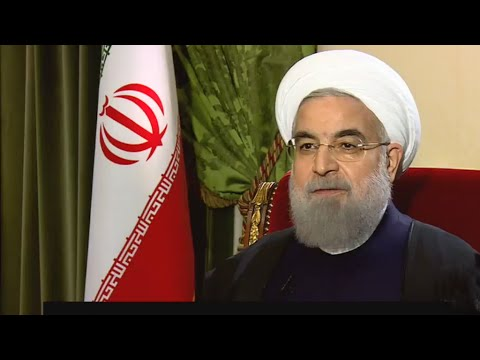 Exclusive interview with Iran's president Hassan Rouhani