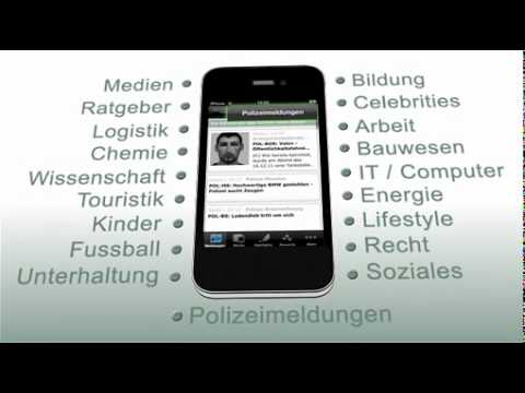 iPhone-App für Presseportal.de