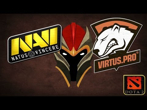 NaVi vs Virtus.PRO (13.11.2013) ASUS ROG DreamLeague Dota 2