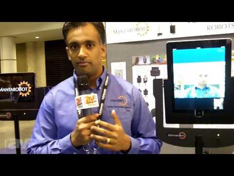 InfoComm 2013: MantaroBot Explains the Telepresence Robots