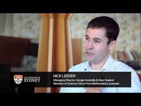 MD of Google Australia, Nick Leeder, shares study and career advice for students