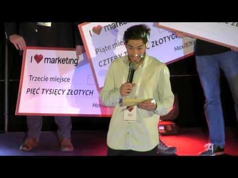 Ogłoszenie Wyników I Love Marketing - Maciej Kautz
