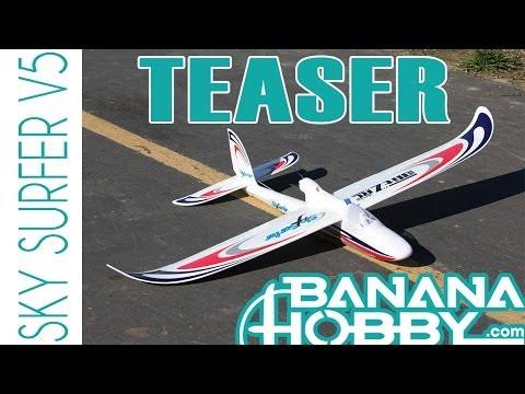 Sky Surfer V5 BlitzRCWorks   Teaser   Sailplane & Glider