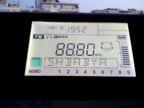 FM DX: Tropo Reception of Al-Shababiyah Radio 88.8 from Libya in Pyrgos, SW Greece