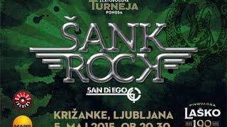 Šank rock - Ljubljana Križanke 05.05.2015 (1/4) HD !