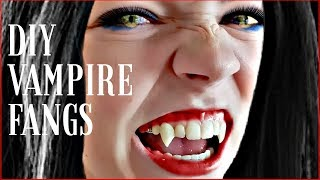 Professional DIY Vampire Fangs by Dental Technician