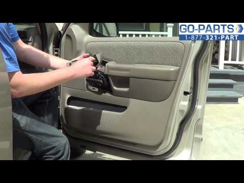 Replace 2001-2005 ford explorer door panel. How to Change Install 2002 2003 2004