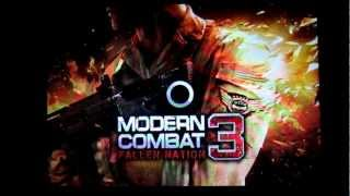 MODERN COMBAT : 3 FALLEN NATION ON XPERIA MINI PRO