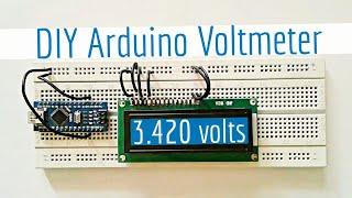How to make a Digital Voltmeter Arduino