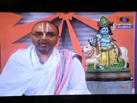 6 Feb 2013 evening Episode 400 Kannapiran Kadaiamudam.Sri Velukkudi Krishnan swamin