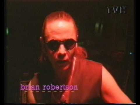 Brian Robertson´s The Clan at Swedish TV in Helsingborg 1995