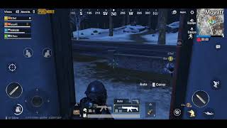 PUBG Mobile Ice Map with voice chat