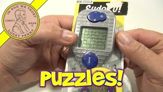 Sudoku Ballpoint Pen Electronic Handheld Game No.12225 - Over 10,000 Puzzles