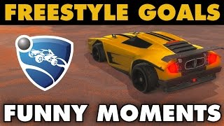 Rocket League | Freestyle Goals & Funny Moments (Highlights)
