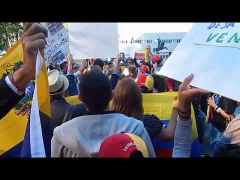 Protest against Human Rights Violations in Venezuela. Sep 26, UN, New York.