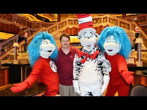 Green Eggs and Ham Breakfast with The Cat in the Hat & Dr. Seuss Friends on  Carnival Freedom Cruise