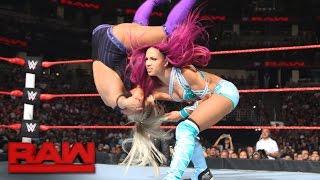 Sasha Banks vs. Dana Brooke: Raw, Aug. 8, 2016