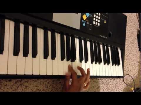 Tum Dil ki dhadkan mein on keyboard