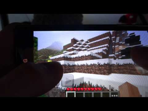 Minecraft Pocket Edition on LG Optimus/Swift L7 [P700]