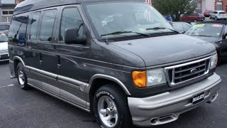 2004 Ford Econoline Explorer Conversion Walkaround, Start up, Tour and Overview