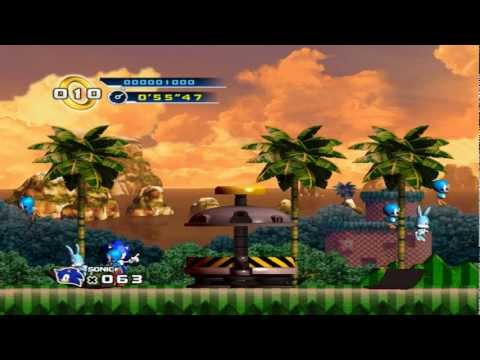 Sonic 4 - Boss 1