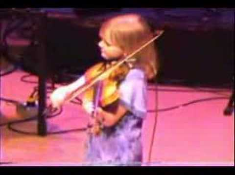 7 Year Old Fiddler Laura Watson Part 1