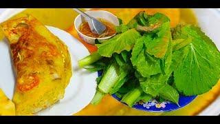 Có gì bên trong chiếc bánh xèo Đinh Công Tráng đắt nhất Sài Gòn 150 ngàn 1 cái